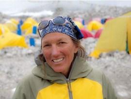 Everest-Besteigerin und Wahl-Nepalesin: Billi Bierling dokumentiert Everest-Expeditionen.