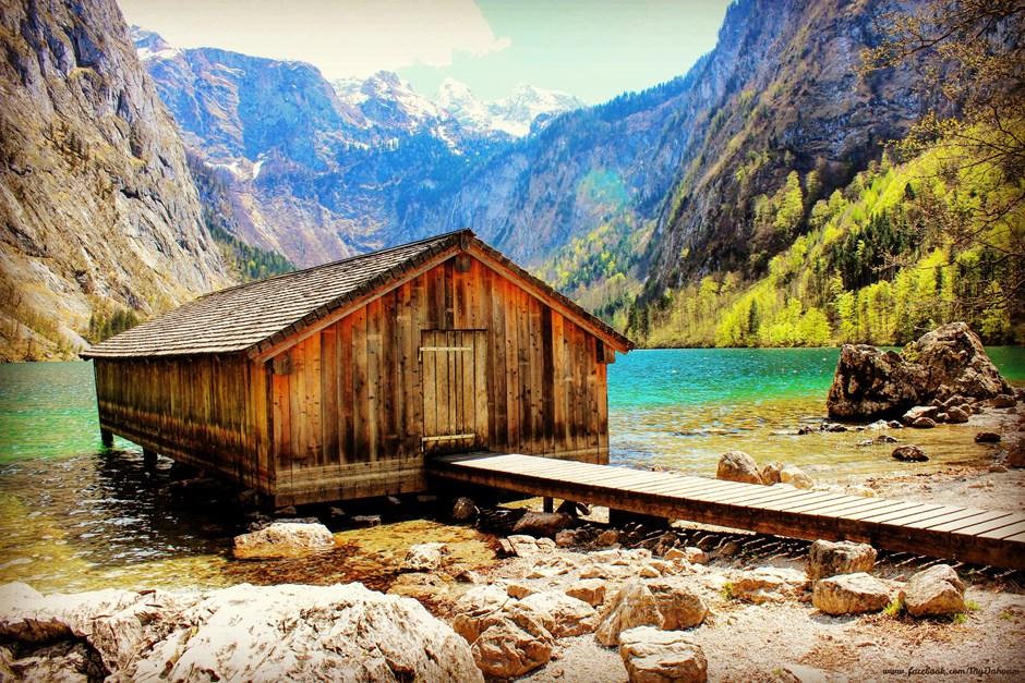 Bootshütte am Obersee