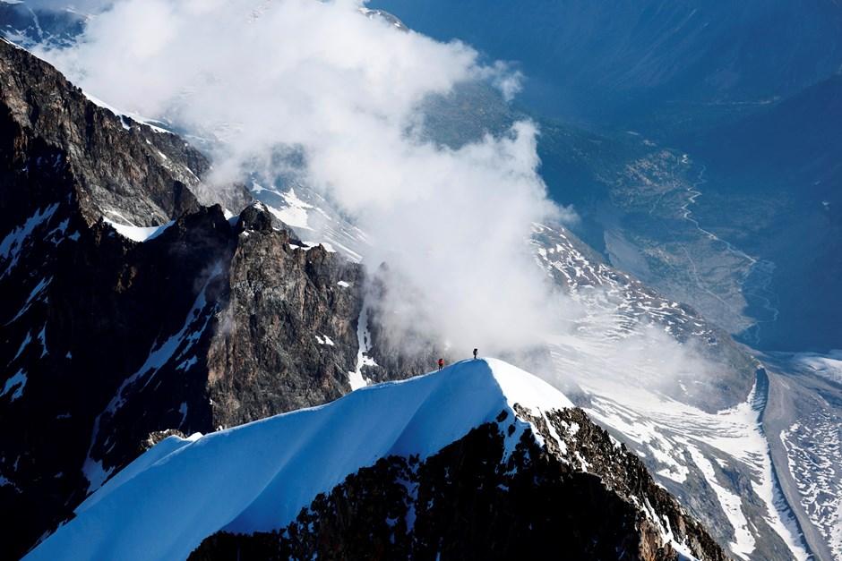 Piz Bernina - Biancograt