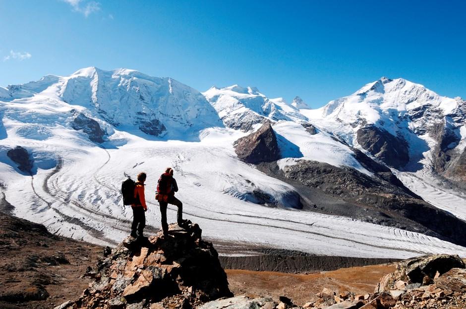 Imposanter Anblick - Gletscherzunge