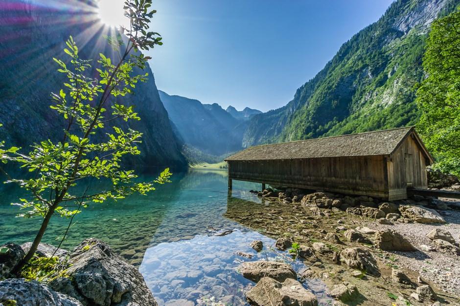Die Hütte am Obersee