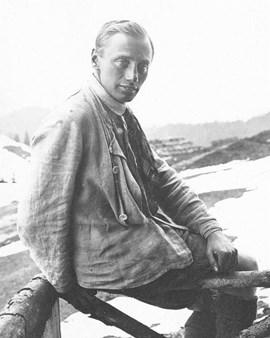 """Paul Preuß, """"Vater des Freikletterns"""""""
