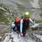 Himmlische Klettersteigfreuden im Höllental