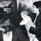 Mit Nina Ricci und Tochter Layla, 1982