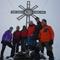 Die Gruppe am Gipfel des Großen Moosstocks (3059 m)