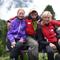 Hans und Teilnehmerinnen zurück im Tal