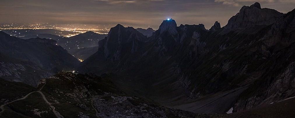 Halbmond auf Gipfel: Kunstaktion sorgt für Aufregung in der Schweiz