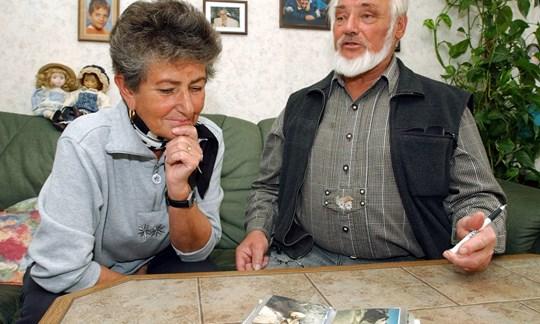 Sie entdeckten 1991den Mann aus dem Eis: Erika und Helmut Simon (hier im April 2003).