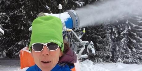 Wie viel Wasser verbraucht eine Schneekanone?