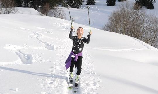 Familien-Skitour Burstkopf, Balderschwang