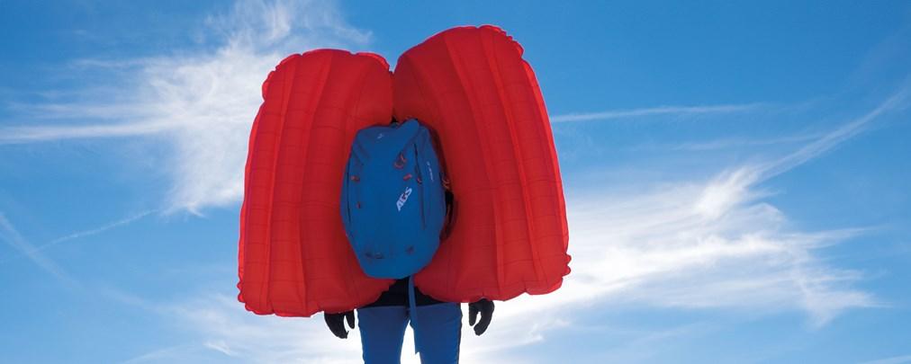 Test Lawinenrucksäcke, Skitourenairbags