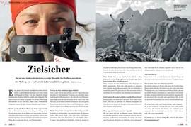 In ALPIN 04/15 finden Sie ein vierseitiges Interview mit Laura Dahlmeier.