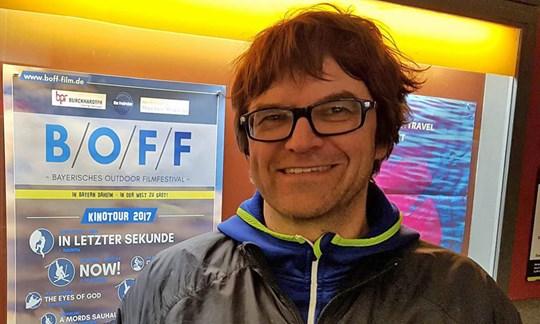 War mit der Premiere in Nürnberg sichtlich zufrieden: BOFF-Macher Tom Dauer.