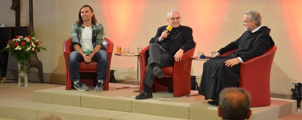 Thomas Huber im Gespräch mit Gregor Maria Hanke