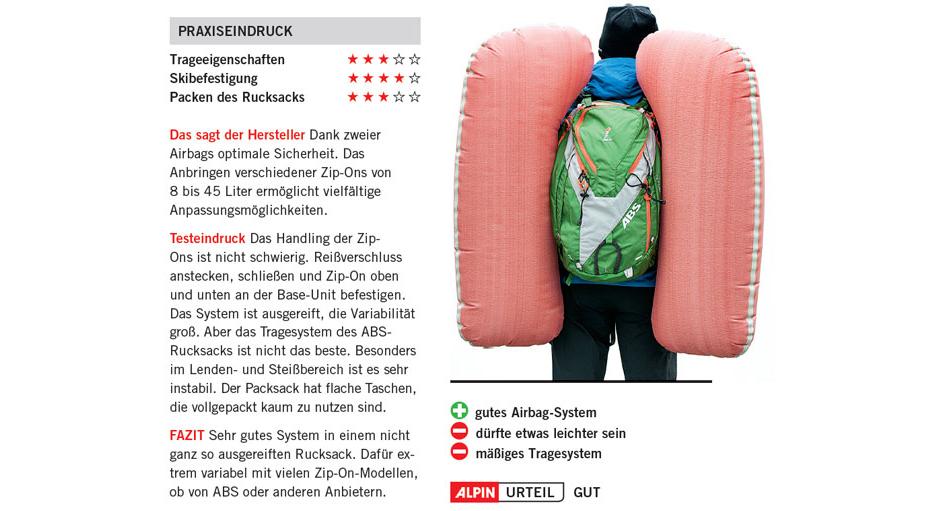 ABS Vario Zip-On 32