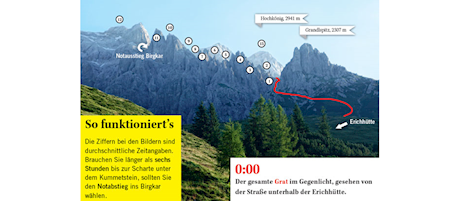 """Der """"Königsjodler""""-Klettersteig"""