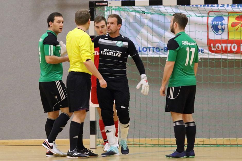 Hallenkreismeisterschaft Nürnberg/Frankenhöhe, 1. Spieltag
