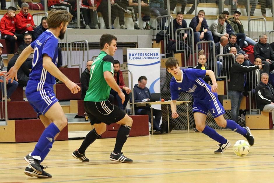 Hallenkreismeisterschaft Nürnberg/Frankenhöhe, Halbfinale