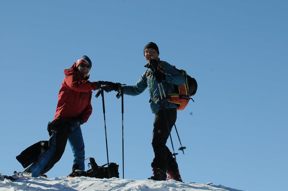 Gratulation zum Gipfelerfolg