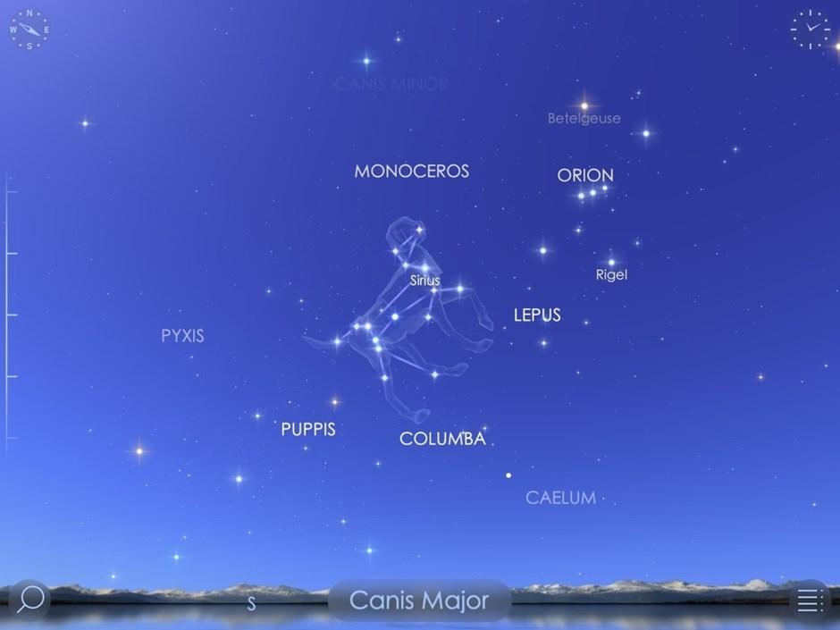 Star Walk 2 Sternbestimmungs-App