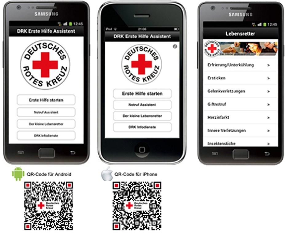 DRK Erste-Hilfe-App