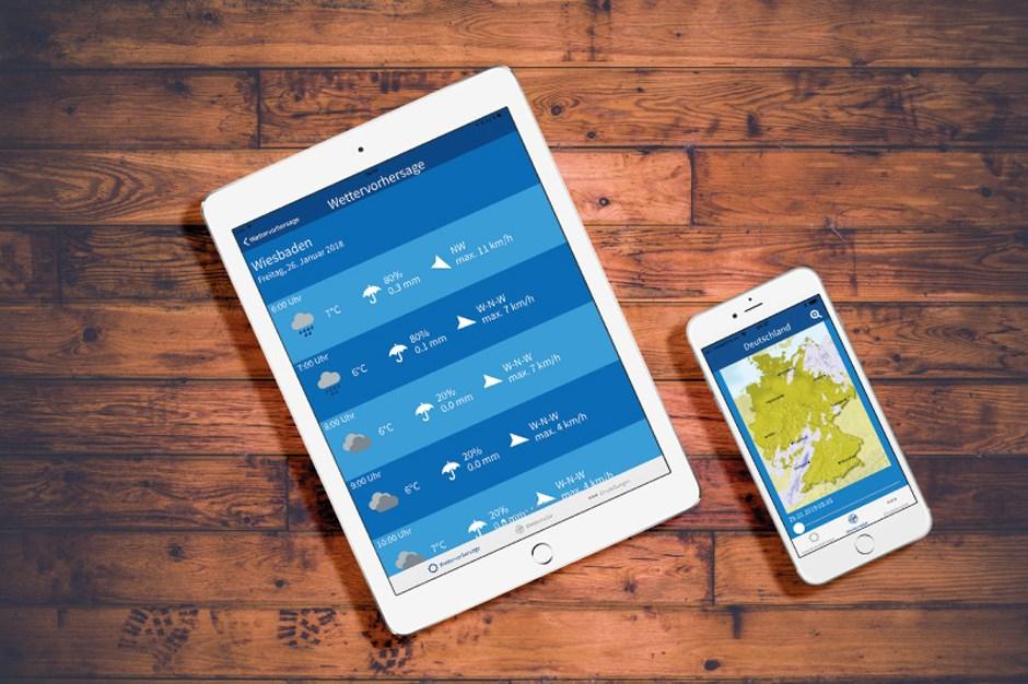 Wetter.net Mobil-App