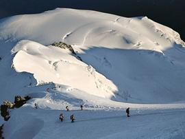 Jeder will den Mont Blanc in seinem Tourenbuch.