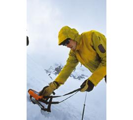 LVS-Gerätetest am Jungfraujoch.
