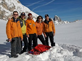 Sie begeben sich auf die Suche nach der unentdeckten Wand: Das Quintett bricht nach Baffin Island auf.
