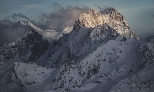 Vreni vom Berg- Elbrus und Ushba