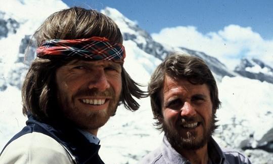 Die beiden Stars der österreichischen Everest-Expedition von 1978: Reinhold Messner und Peter Habeler.