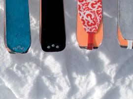 Im Test: Skitourenfelle.