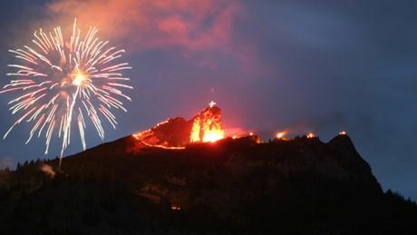 Die schönsten Bergfeuer