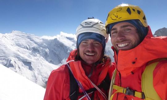 Eingespieltes Team: Simon Gietl undVittorio Messini.