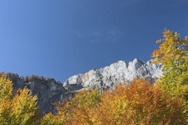 Spätsommer am Untersberg in Berchtesgaden.