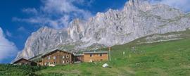 Unsere Hütte des Monats: Das Berghaus Sulzfluh.