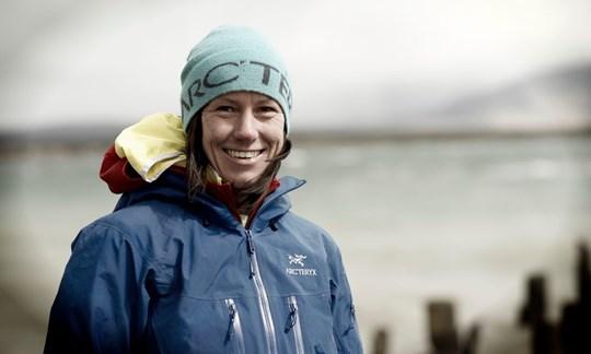 """Ines Papert ist eine der Bergsportgößen, die am 14.06.18 in der """"Vertical Arena"""" zu Gast sein wird."""