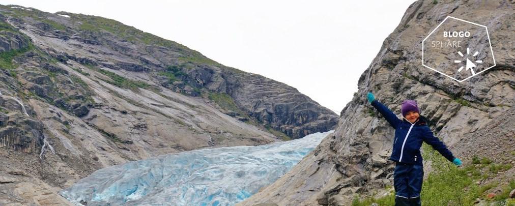 Gletscherwanderung mit Kindern in Norwegen