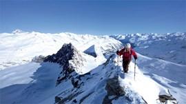 Titelthema: Skitouren.