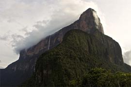 Beeindruckend: Die La Proa-Wand des Roraima Tepuis.