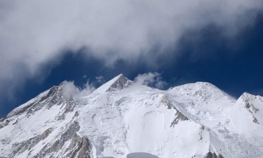 Erstmals im Winter bestiegen: Der Gasherbrum II.