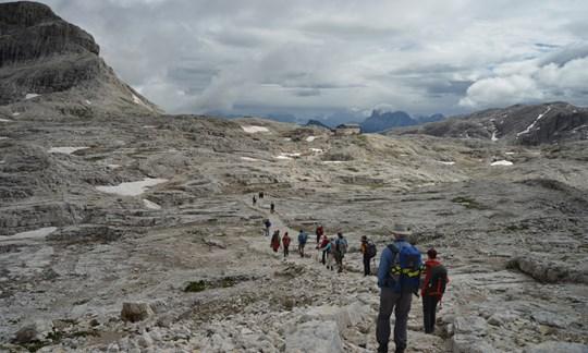 """Einige ALPIN-Leser erlebten drei besondere Tage beim """"Suoni delle Dolomiti""""."""