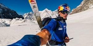 K2: Erste komplette Skiabfahrt gelungen