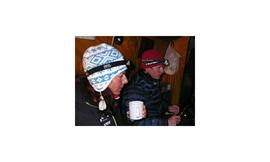 2009 gemeinsam am K2: Gerlinde Kaltenbrunner und David Göttler.