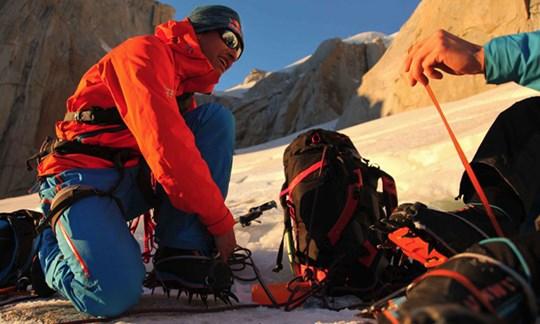 Traum erfüllt: David Lama 2011 in Patagonien