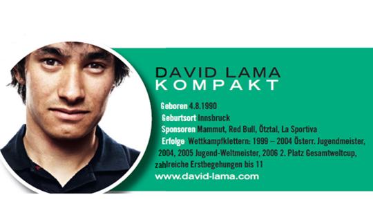 David Lama kompakt