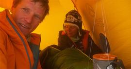 Starkes Team: David Göttler und Gerlinde Kaltenbrunner (Foto: David Göttler).