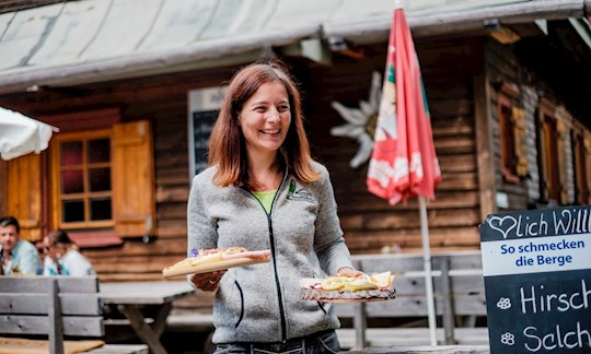 Steigende Temperaturen, steigende Besucherzahlen: Auf den meisten DAV-Hütten hatten man in den zurückliegenden Wochen viel zu tun.