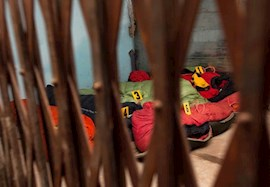 Schreckliches Bild: Die Opfer der Lawinenkatastrophe am Manaslu (Foto: picture-alliance.com).