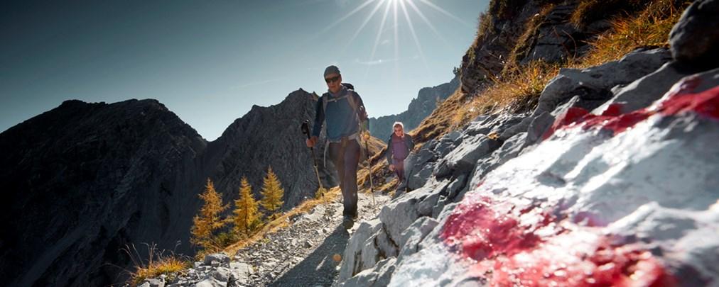 Karwendel und Tennengebirge: Die GPS-Tracks unserer Oktober-Ausgabe